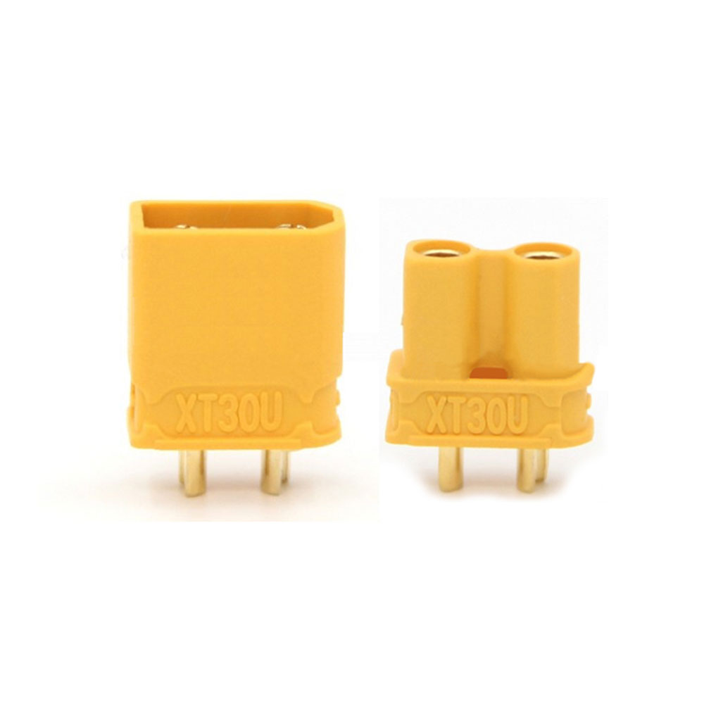 AMASS XT30U 2mm Gold Plated Female Male Connectors