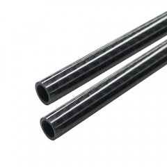 Glossy Surface 20MM 3K Roll wrapped carbon fiber tube 18mm*20mm*500mm(2 PCS)