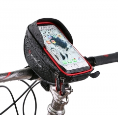 Waterproof Touch Screen Bicycle Handbar Front Phone Frame Bag Holder