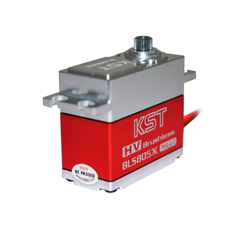 KST BLS805X 7.5KG HV Metal Brushless Servo for 550-700 Class Helicopter