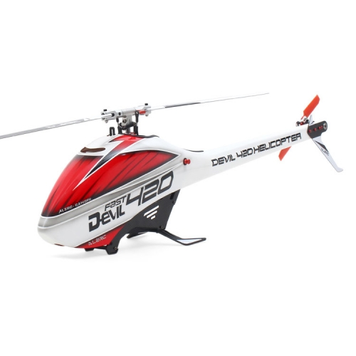 ALZRC Devil 420 FAST FBL 6CH 3D Helicopter Kit (Silver)