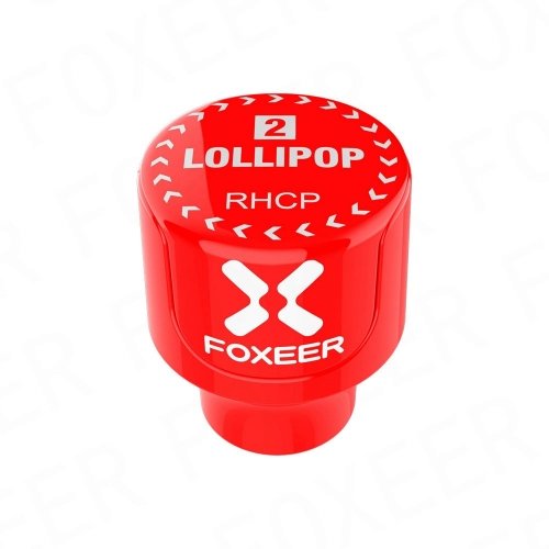 Foxeer Lollipop 2 Stubby 5.8G Omni Antenna Red SMA (2pcs)