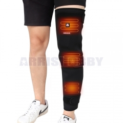 7.4V 4200mah Battery Powered Full Leg Heated Neoprene Knee Wrap for Pain Relief
