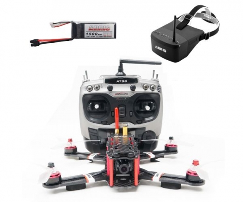 ARRIS X-Speed 250B FPV Racing Drone RTF with EV800 Goggle with 2 Battery