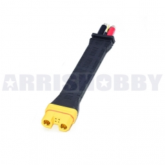 Amass AS150U Connector Anti Spark with Signal Pin with Long Silicone Wire Protective Cover (Female)