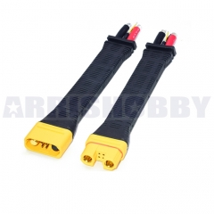 Amass AS150U Connector Anti Spark with Signal Pin with Long Silicone Wire Protective Cover (one pair)