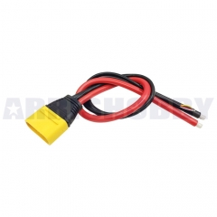 Amass AS150U Connector Anti Spark with Signal Pin with Short Silicone Wire Protective Cover (Male)