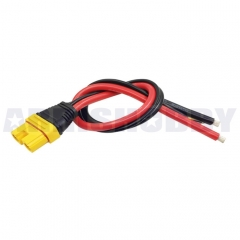 Amass AS150U Connector Anti Spark with Signal Pin with Short Silicone Wire Protective Cover (Famale)