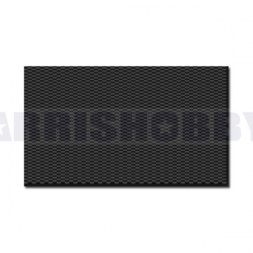 ARRIS 400X500X5MM 100% 3K Plain Weave Carbon Fiber Sheet Laminate Plate Panel 5mm Thickness (Glossy Surface)