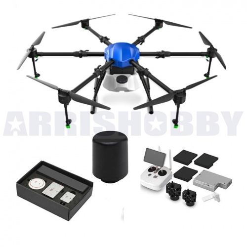 ARRIS E616S 6 Axis 16L UAV Agriculture Spraying Drone DJI Agriculutre Solution Kit N3-AG Radar