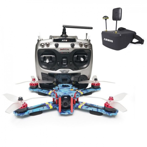 ARRIS C250 V2 250mm FPV Racing Drone RTF w/ Radiolink AT9S and EV800D FPV Goggle