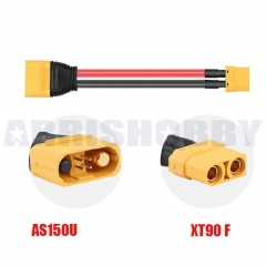 AMASS AS150U Plug XT90 Female RC Charger Extension Cable Battery Extension Cable