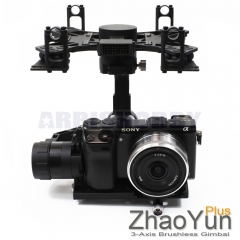 ARRISHOBBY Zhaoyun Plus 3 Axis Brushless Gimbal Basecam 32bit Camera Mount