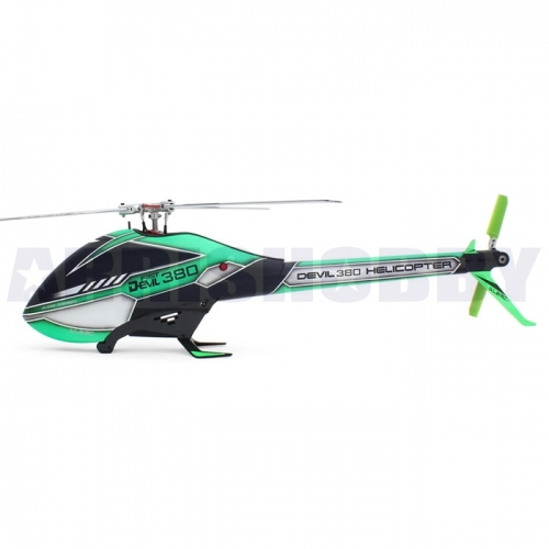 ALZRC Devil 380 3D 6CH FAST FBL 3 Rotor RC Helicopter KIT