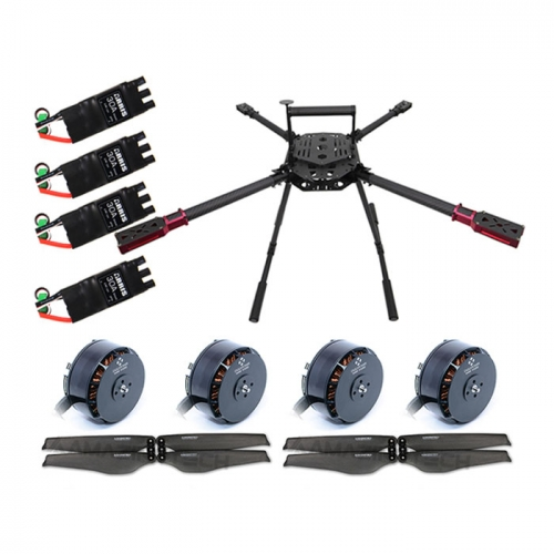 ARRIS M900 4 Axis Quadcopter Frame Kit Good for Long Flight Time Drone with Motor/ESC/Propeller (unassembled)